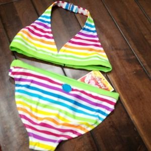 NWT Girls Angel Beach 2pc Bikini Size 14/16